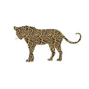 leopardo estampado